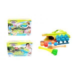 Бластер для снежков водных бомбочек и мячей Веселые забавы 3в1 ABtoys