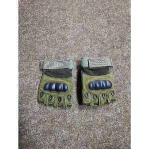 Перчатки спецназ зеленые Kombat размер L