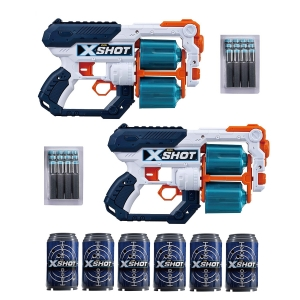 Набор X-SHOT Xcess Tk-12 Double Pack 2 бластера