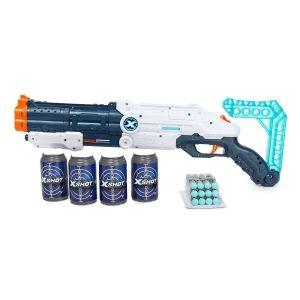 Набор для стрельбы X-SHOT Мститель, 12п, 4 банки