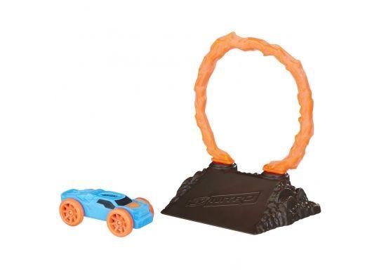 Набор препятствий Огненное кольцо для Нерф Нитро + синяя машинка