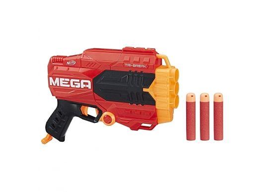 Пистолет Нерф Мега Три Брейк