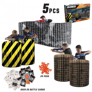 Укрытие Nerf BUNKR Inflatable Battlezone Tournament Set (5 шт)