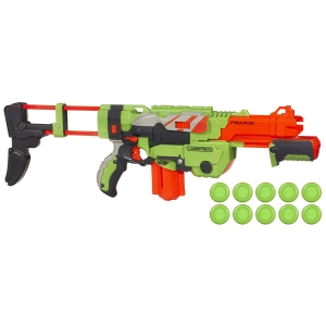 Бластер Nerf Vortex VTX Praxis Exclusive 20 дисков
