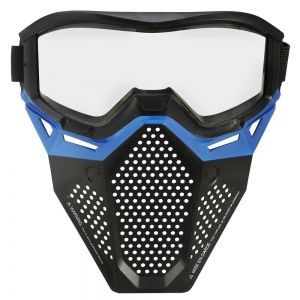Синяя маска для лица Нерф Райвал
