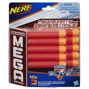 Комплект стрел Нерф Мега - 10 штук