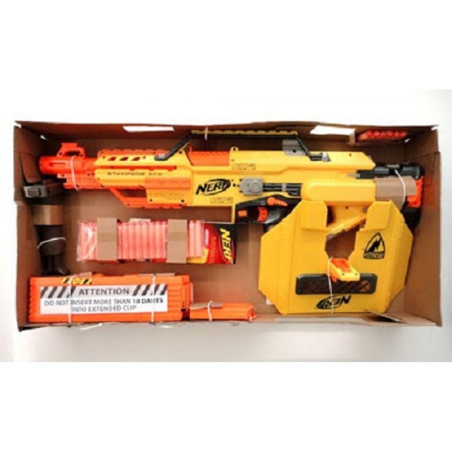 Купить бластер Nerf N Strike Stampede Стампид Ecs 7990