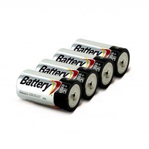 Батарейки LR 14 - 4 штуки для бластера Каунтерстрайк