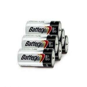 Батарейки LR 20 - 6 штук для бластера Рино Файр / Вулкан