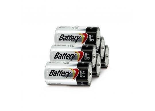 Батарейки LR 20 - 6 штук для бластера Рино Файр
