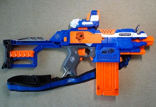 Модифицированный Nerf N-Strike Elite Stryfe Na nerfblaster.ru